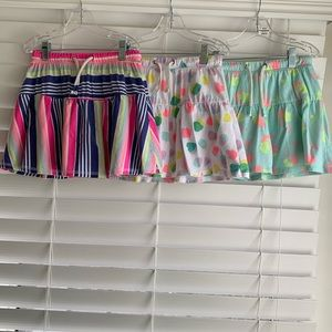 Cat & Jack - Lot of 3 Girl Size 7/8 Skorts